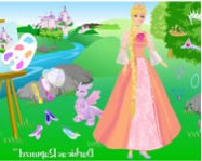 Barbie as rapunzel barbie j�t�kok