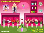 Barbie flowers shop online barbie j�t�k