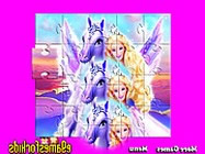 Barbie jigsaw puzzle game barbie j�t�kok