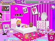 Barbie room cleanup online barbie j�t�k