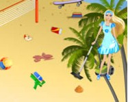 Barbie summer beach clean up barbie j�t�kok
